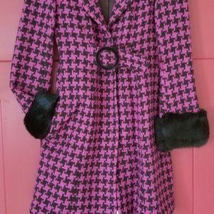 Nanette lepore car coat size 4